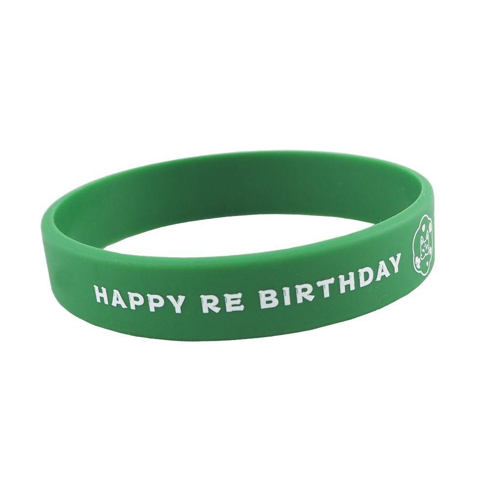 HAPPY REBIRTHDAY ラバーリストバンド
